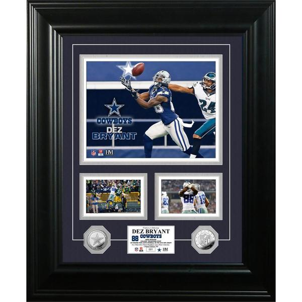 Dez Bryant 'Marquee' Silver Coin Photo Mint
