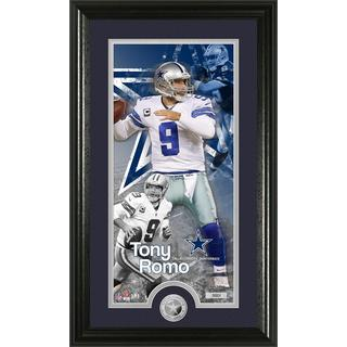 Tony Romo 'Supreme' Minted Coin Panoramic Photo Mint