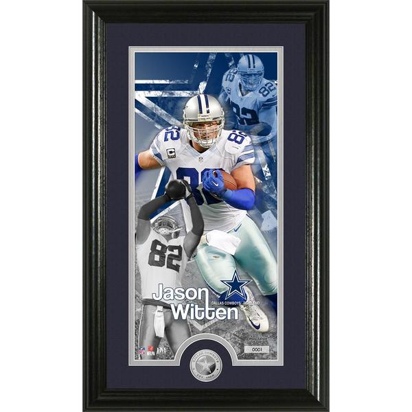 Jason Witten 'Supreme' Minted Coin Panoramic Photo Mint