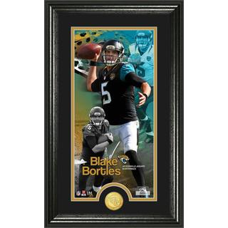 Blake Bortles 'Supreme' Bronze Coin Panoramic Photo Mint