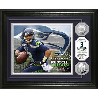 Russell Wilson Silver Coin Photo Mint