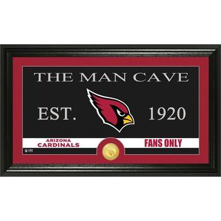 Arizona Cardinals 'Man Cave' Bronze Coin Panoramic Photo Mint