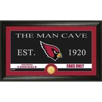 Arizona Cardinals 'Man Cave' Bronze Coin Panoramic Photo Mint
