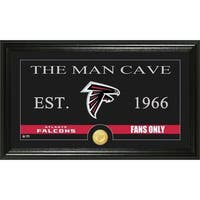 Atlanta Falcons 'Man Cave' Bronze Coin Panoramic Photo Mint