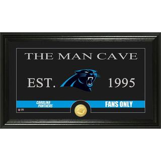 Carolina Panthers 'Man Cave' Bronze Coin Panoramic Photo Mint