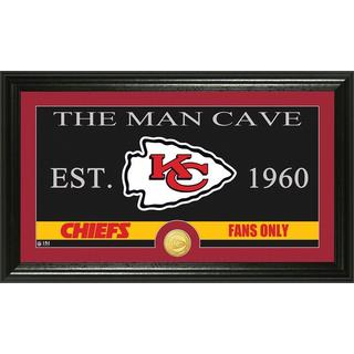 Kansas City Chiefs 'The Man Cave' Bronze Coin Panoramic Photo Mint