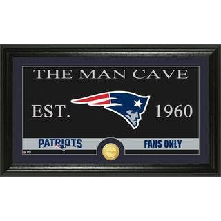 New England Patriots 'The Man Cave' Bronze Coin Panoramic Photo Mint|https://ak1.ostkcdn.com/images/products/10490848/P17578345.jpg?impolicy=medium