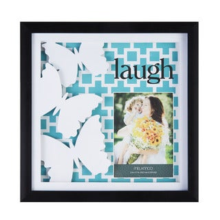 MELANNCO LAUGH COLR PAPERART SHADOW BOX