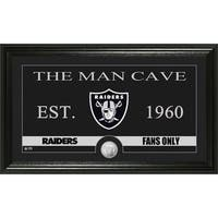 Oakland Raiders 'Man Cave' Bronze Coin Panoramic Photo Mint