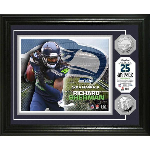 Richard Sherman Silver Coin Photo Mint
