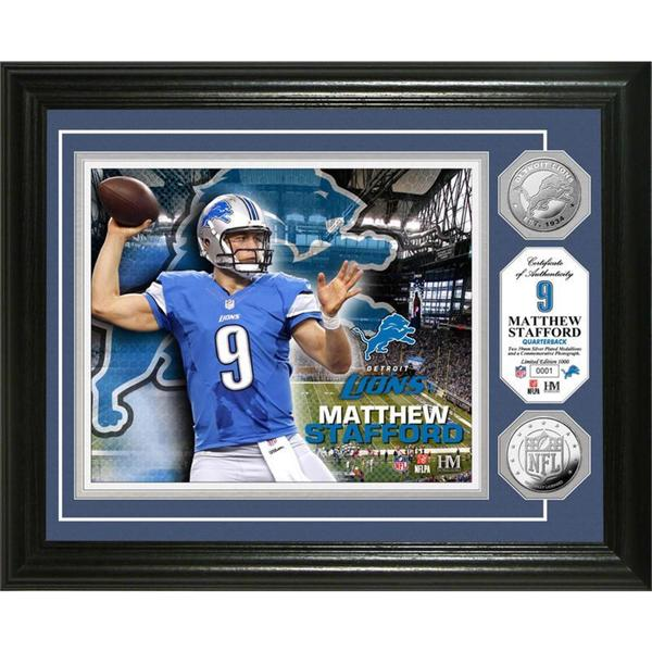 Matthew Stafford Silver Coin Photo Mint