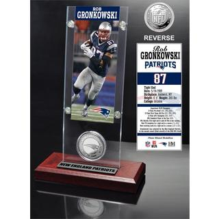 Rob Gronkowski Ticket and Minted Coin Acrylic Desk Top