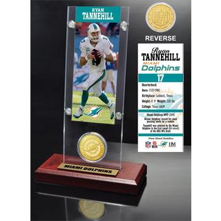 Ryan Tannehill Ticket and Bronze Coin Acrylic Desk Top
