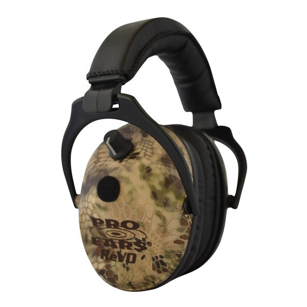Pro Ears NRR 25 ReVO Electronic Hearing Protection and Amplification Highlander Youth and Women Ear Muffs