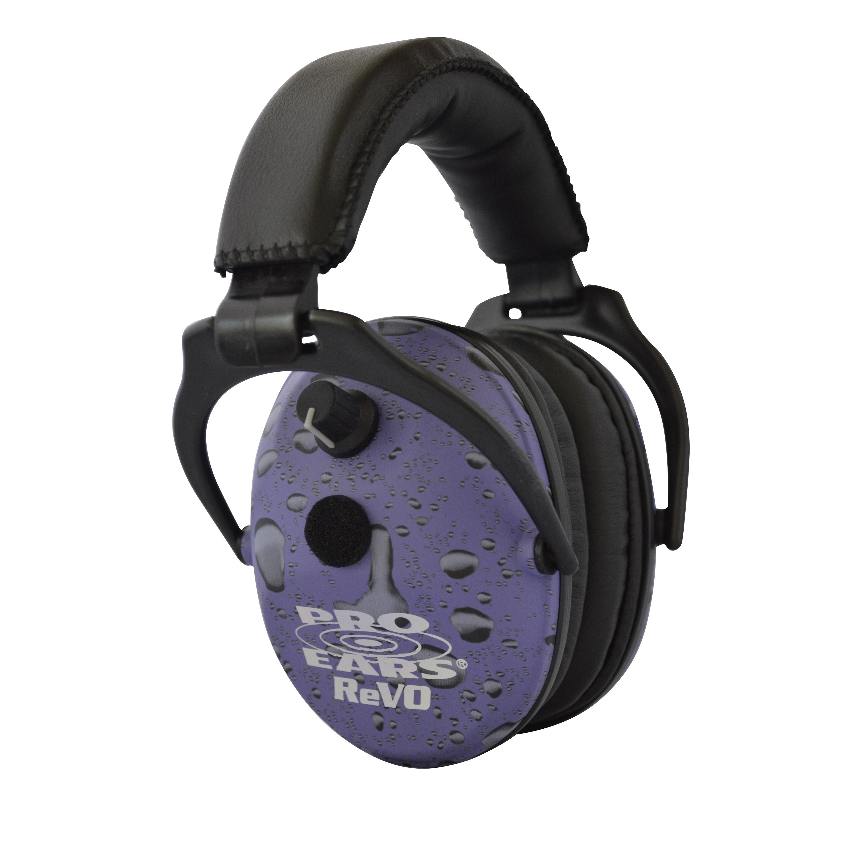 Pro Ears NRR 25 ReVO Purple Rain Electronic Hearing Predection and Amplification