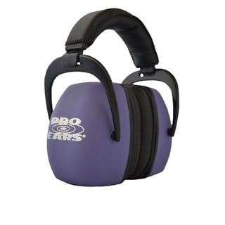 Pro Ears NRR 30 Ultra Pro Hearing Protection Purple Ear Muffs