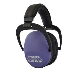 Pro Ears NRR 26 Ultra Sleek Hearing Protection Purple Ear Muffs