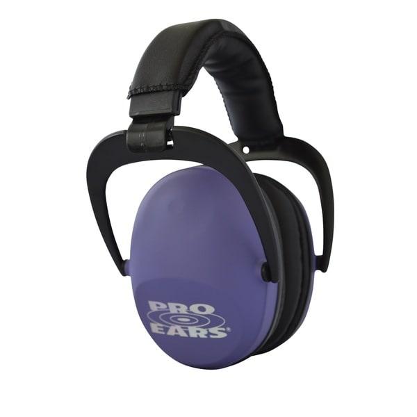 Pro Ears NRR 26 Ultra Sleek Hearing Protection Purple Ear Muffs