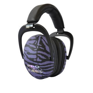 Pro Ears NRR 26 Ultra Sleek Purple Zebra Hearing Protection Ear Muffs|https://ak1.ostkcdn.com/images/products/10490982/P17578438.jpg?impolicy=medium