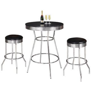 Remington 3 Piece Pub Table Set Chrome and Black|https://ak1.ostkcdn.com/images/products/10491016/P17578467.jpg?impolicy=medium