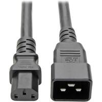Tripp Lite 3ft PDU Power Cord Cable C13 to C20 Heavy Duty 15A 12AWG 3