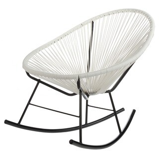Acapulco White Indoor/ Outdoor Rocking Chair