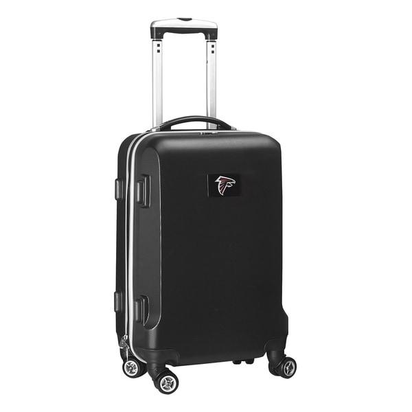 Denco Sports NFL Atlanta Falcons 20-inch Hardside Carry-on Spinner Upright Suitcase