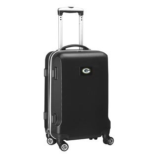 Denco Sports NFL Green Bay Packers 20-inch Carry-on Spinner Upright Suitcase