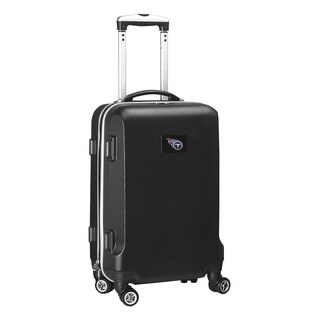 Denco Sports NFL Tennessee Titans 20-inch Hardside Carry-on Spinner Upright Suitcase