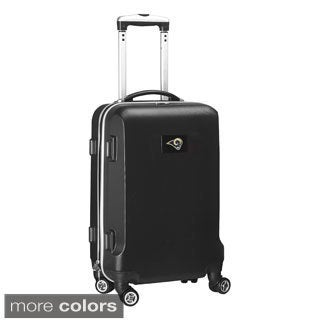 Denco Sports NFL St Louis Rams 20-inch Hardside Carry-on Spinner Upright Suitcase