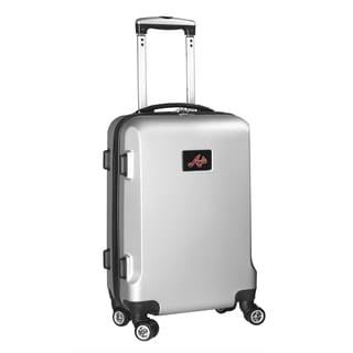 Denco Sports MLB Atlanta Braves 20-inch Hardside Carry-on Spinner Upright Suitcase