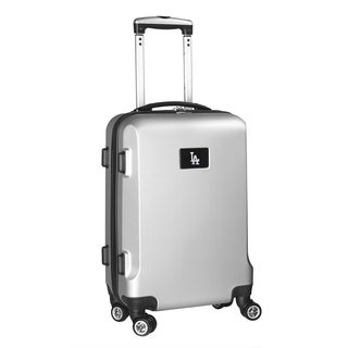 Denco Sports MLB Los Angeles Dodgers 20-inch Hardside Carry-on Spinner Upright Suitcase