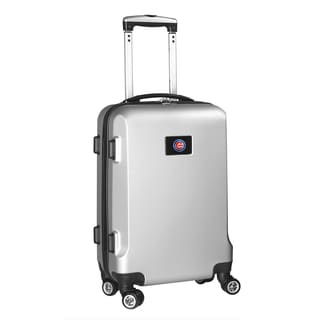 Denco Sports MLB Chicago Cubs 20-inch Hardside Carry-on Spinner Upright Suitcase