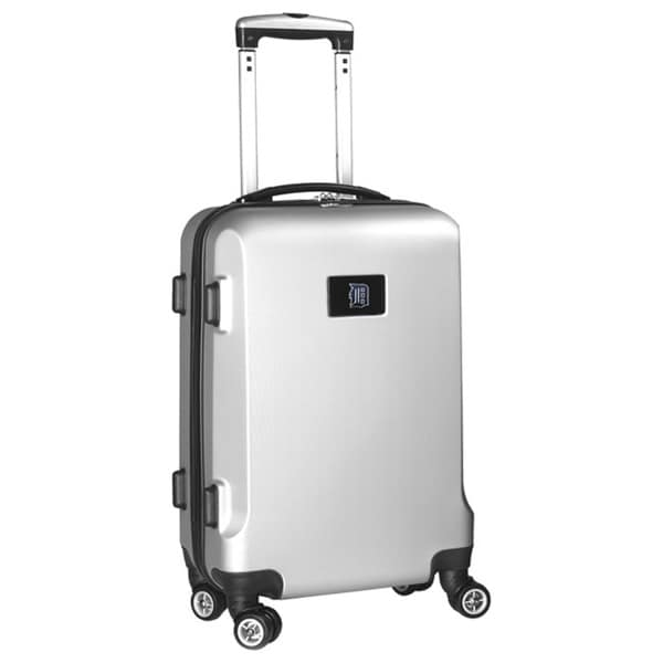 Denco Sports MLB Detroit Tigers 20-inch Hardside Carry-on Spinner Upright Suitcase