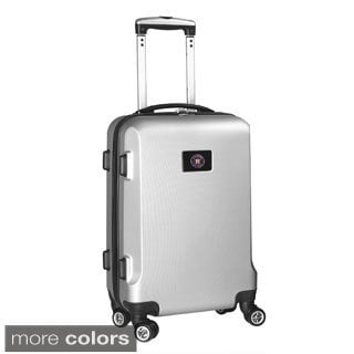 Denco Sports MLB Houston Astros 20-inch Hardside Carry-on Spinner Upright Suitcase