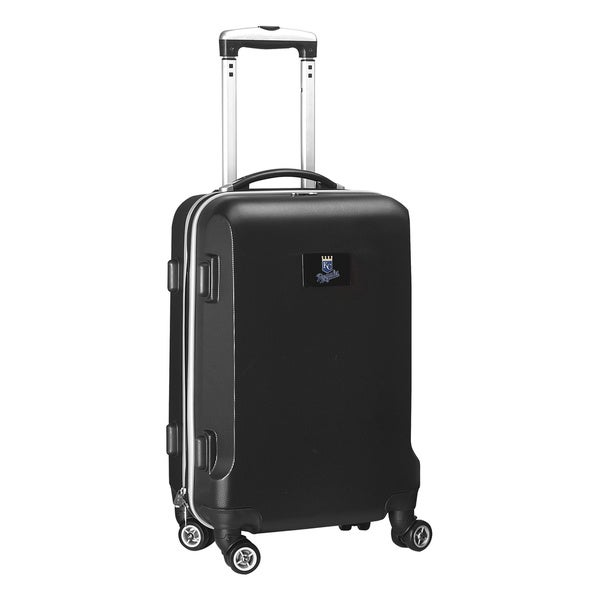 Denco Sports MLB Kansas City Royals 20-inch Hardside Carry-on Spinner Upright Suitcase