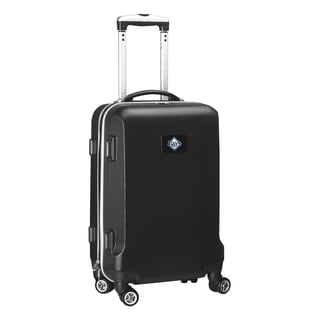 Denco Sports MLB Tampa Bay Rays 20-inch Hardside Carry-on Spinner Upright Suitcase