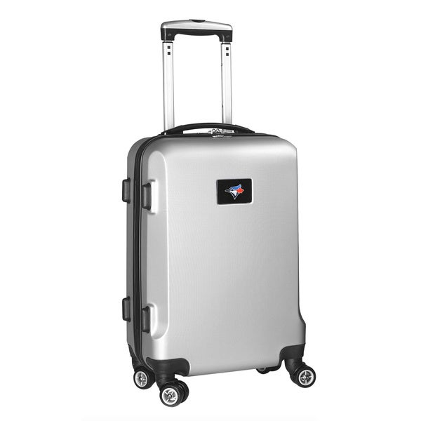 Denco Sports MLB Toronto Blue Jays 20-inch Hardside Carry-on Spinner Upright Suitcase