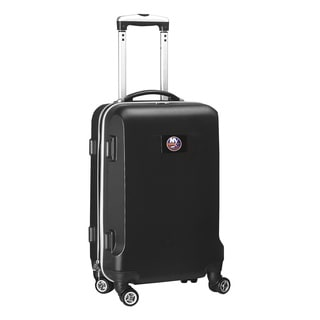 Denco Sports NHL New York Islanders 20-inch Hardside Carry-on Spinner Upright Suitcase