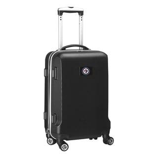 Denco Sports NHL Winnipeg Jets 20-inch Hardside Carry-on Spinner Upright Suitcase