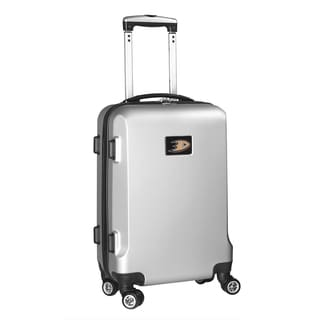Denco Sports NHL Anaheim Mighty Ducks 20-inch Hardside Carry-on Spinner Upright Suitcase