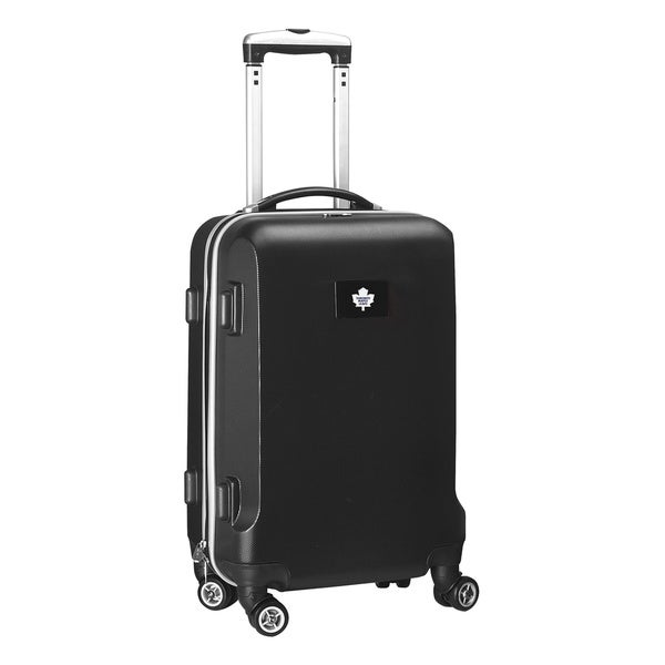 Denco Sports NHL Toronto Maple Leafs 20-inch Hardside Carry-on Spinner Upright Suitcase