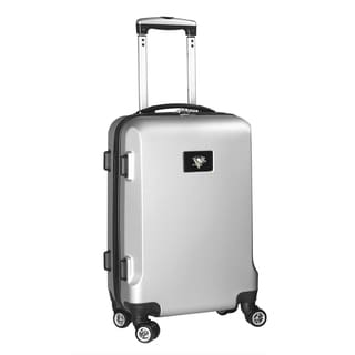 Denco Sports NHL Pittsburgh Penguins 20-inch Hardside Carry-on Spinner Upright Suitcase