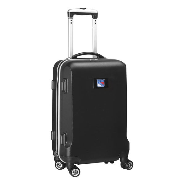 Denco Sports NHL New York Rangers 20-inch Hardside Carry-on Spinner Upright Suitcase