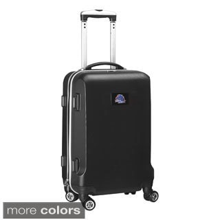 Denco Sports NCAA Boise State Broncos 20-inch Hardside Carry-on Spinner Upright Suitcase