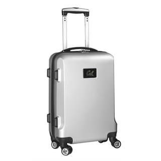 Denco Sports NCAA California Bears 20-inch Hardside Carry-on Spinner Upright Suitcase