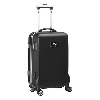 Denco Sports NCAA Colorado Buffaloes 20-inch Hardside Carry-on Spinner Upright Suitcase