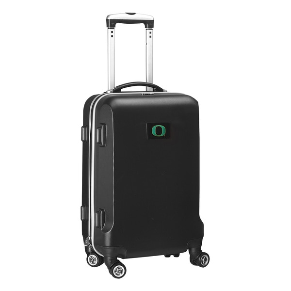 Denco Sports NCAA Oregon Ducks 20-inch Hardside Carry-on Spinner Upright Suitcase