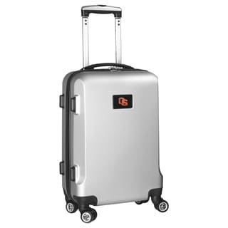 Denco Sports NCAA Oregon State Beavers 20-inch Hardside Carry-on Spinner Upright Suitcase