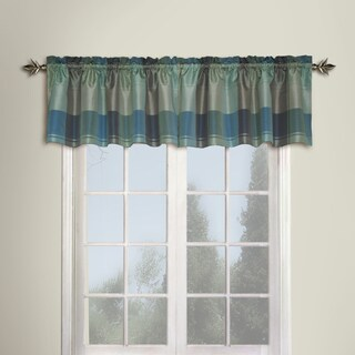 Luxury Collection Plaid Woven Window Valance - 18 Inch